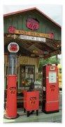 Route 66 - Shea's Gas Station Beach Towel