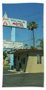 Route 66 - Wigwam Motel 3 Beach Towel