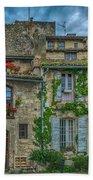 Row Houses Arles France_dsc5719_16_dsc5719_16 Beach Towel