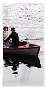 Rowing Boat Beach Towel