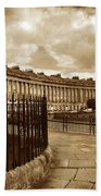 Royal Crescent Bath Somerset England Uk Beach Towel