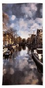 Royal Dutch Canals Beach Towel
