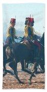 Royal Horse Artillery Painted Beach Towel