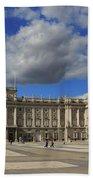 Royal Palace Of Madrid Spain Beach Towel