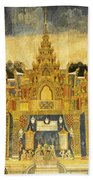 Royal Palace Ramayana 20 Beach Towel