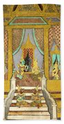 Royal Palace Ramayana 21 Beach Towel