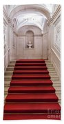 Royal Palace Staircase Beach Towel