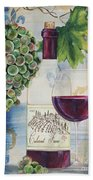 Royal Wine-a Beach Towel