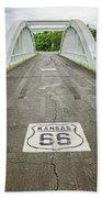 Rt. 66 Rainbow Bridge Beach Towel