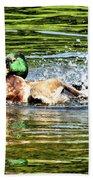 Rub A Dub Dub Beach Sheet