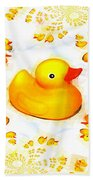 Rubber Ducks Beach Towel