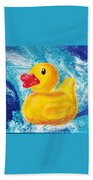 Rubber Ducky Beach Towel