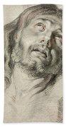 Rubens, Christ.  Beach Towel