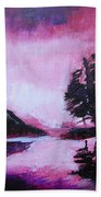 Ruby Dawn Beach Towel