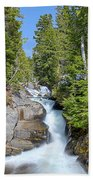 Ruby Falls On A Spring Afternoon Beach Towel