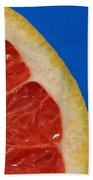 Ruby Red Grapefruit Quarter Beach Towel