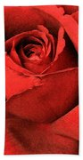 Ruby Rose Beach Towel