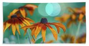 Rudbeckia Beach Towel