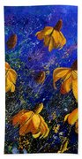 Rudbeckia's Beach Towel