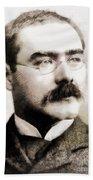 Rudyard Kipling, Literary Legend Beach Towel