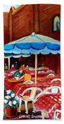 Rue Prince Arthur Beach Towel