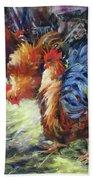 Ruffled Feathers Beach Sheet