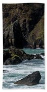 Rugged South Coast Beach Towel