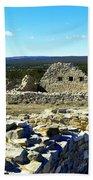 Ruins Of Gran Quivira  Beach Towel