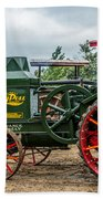 Rumley Oil Pull Tractor Beach Towel