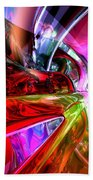 Runaway Color Abstract Beach Towel