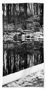Runeberg's Fountain Beach Towel