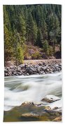 Rushing River Beach Towel