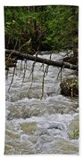 Rushing Stream Beach Towel
