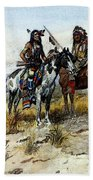 Russell Charles Marion On The Prowl Beach Towel