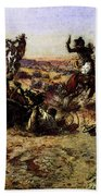 Russell Charles Marion The Broken Rope Beach Towel