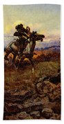 Russell Charles Marion The Stranglers Beach Towel