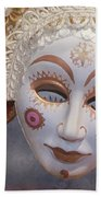 Russian Mask 4 Beach Sheet