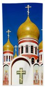 Russian Orthodox Beach Towel