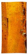 Rust Abstract 2 Beach Towel