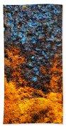 Rust Abstract 3 Beach Towel