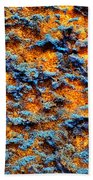 Rust Abstract 6 Beach Towel