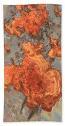 Rust Art Beach Towel