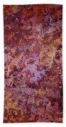 Rust Autumn Beach Towel