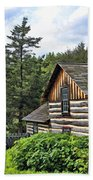 Rustic Farmhouse At Old World Wisconsin Beach Towel