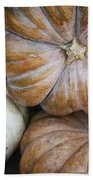 Rustic Pumpkins Beach Towel