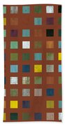 Rustic Wooden Abstract Vll Beach Towel
