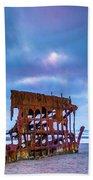 Rusting Peter Iredale Beach Sheet