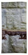 Rusty Girder Beach Towel