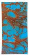 Rusty Lace Beach Towel