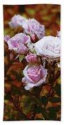 Rusty Romance In Pink Beach Towel by Ivana Westin
